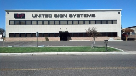 United Sign Systems Building Front