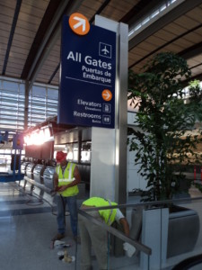 Big Build - Airport Signs