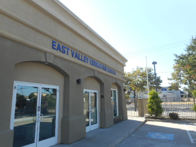 Flat Cut Sign - East Valley Education Center
