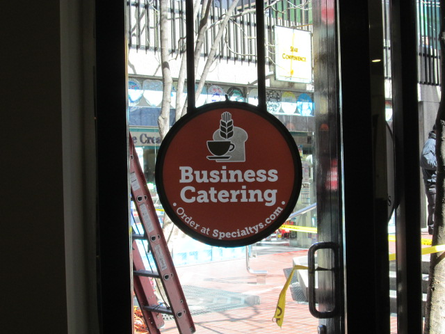 Custom Signs - Business Catering