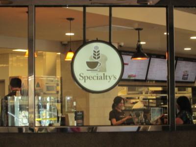 Custom Signs - Peet's Coffee & Tea Specialty's