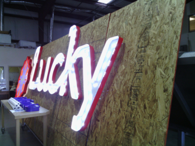 Lucky's Sign