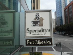 Flat Cut Out - Peets Coffee and Tea Specialty's