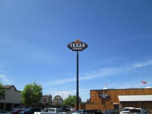 Pole Sign Texas Roadhouse