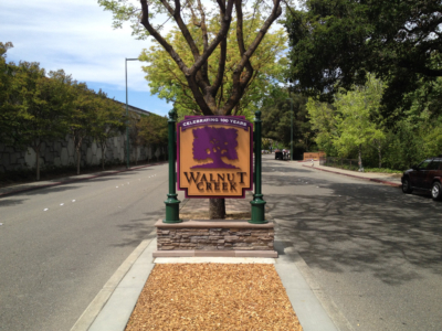 Monument Sign - Walnut Creek