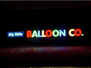 Open Face Neon - My Little Balloon Co.