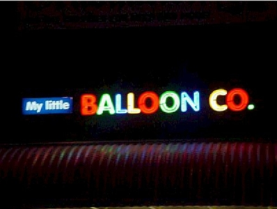 Open Face Neon - My Little Balloon Co.