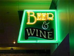 Custom Signs - Beer & Wine