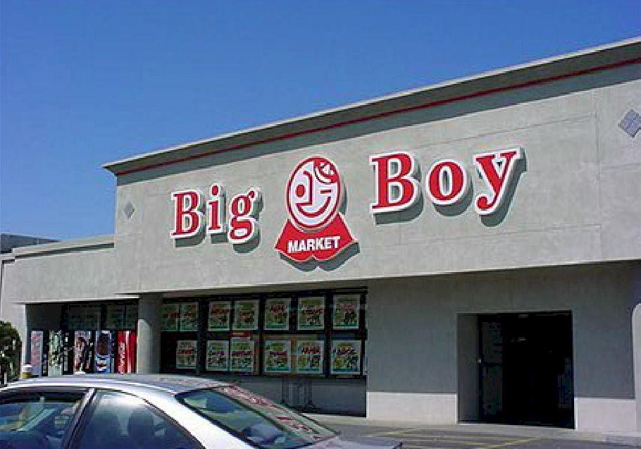 Pan Channel Letters - Big Boy Market