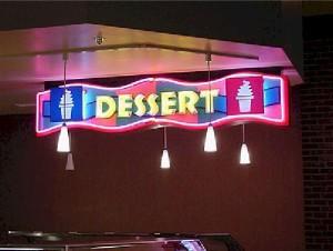 Open Face Neon - Dessert
