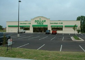 Pan Channel Letters - The Dollar Tree