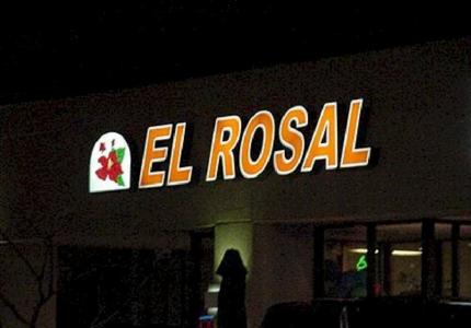 Pan Channel Letters - El Rosal