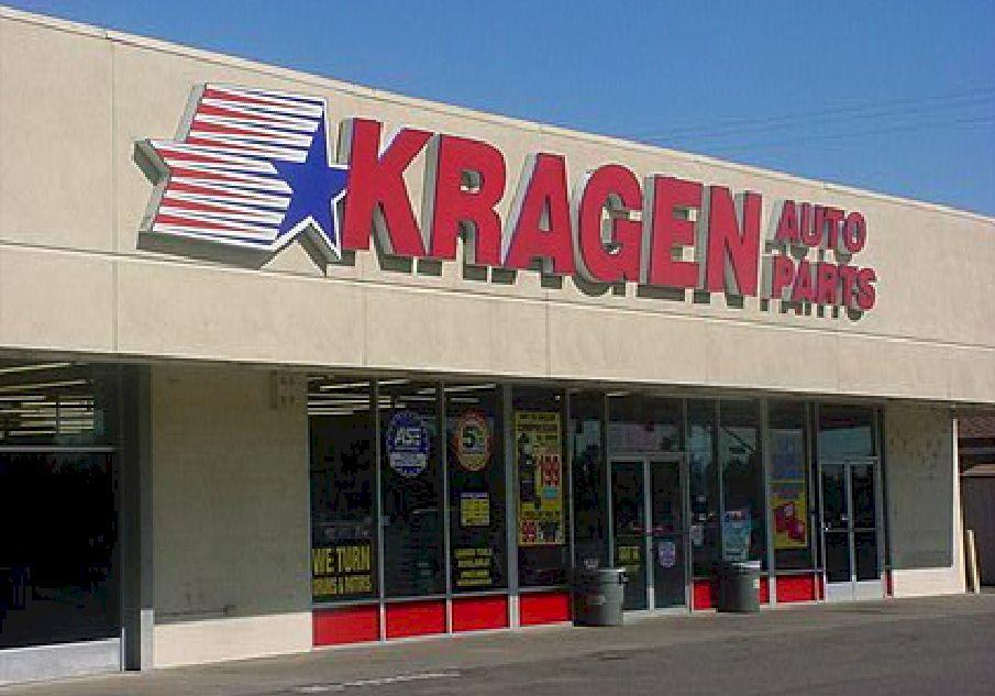 Pan Channel Letters - Kragen Auto Parts