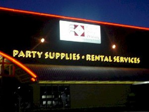 Open Face Neon - Party Supplies