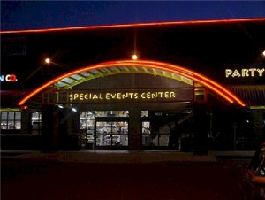 Open Face Neon - Special Events Center