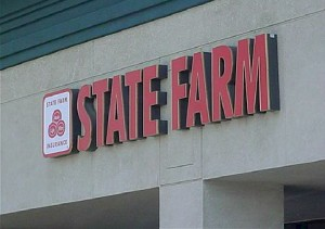 Pan Channel Letters - State Farm