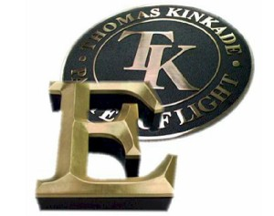 Custom Signs - Thomas Kinkade