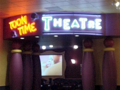 Open Face Neon - Toon Time Theater