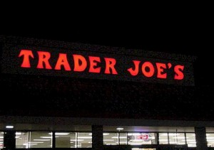 Pan Channel Letters - Trader Joes